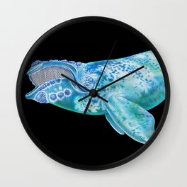 Right Whale Wall Clock
