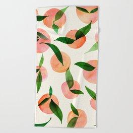 Summer Fruit Pattern Beach Towel