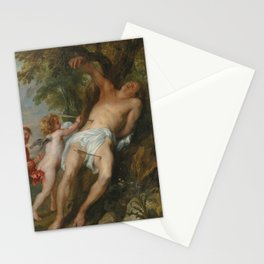 Anthony van Dyck - Saint Sebastian after His Ordeal Stationery Cards
