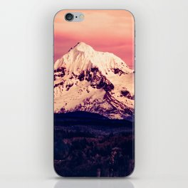 Mt Hood Mountain with Snow iPhone Skin