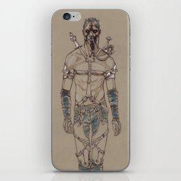 Post Apocalyptic Warrior iPhone Skin