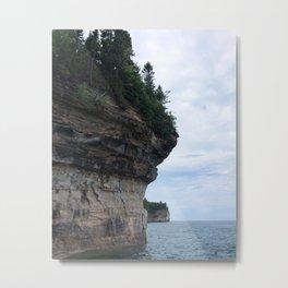 Pictured Rocks Metal Print