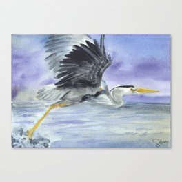 From Heron Out Canvas Print