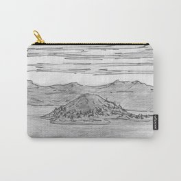 The Island is Growing Carry-All Pouch