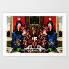 DUALISM II Art Print