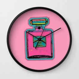 Parfum Pop Art Bottle Wall Clock
