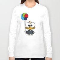 ballon Long Sleeve T-shirts featuring Balloon - ballon de baudruche by binbinrobin