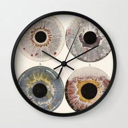 Iris Colors Wall Clock
