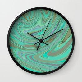 GREEN FANCY Wall Clock