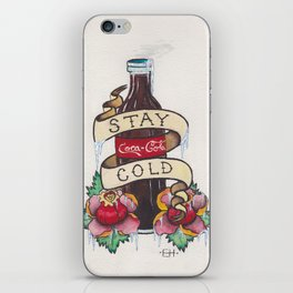 Stay Cold iPhone Skin