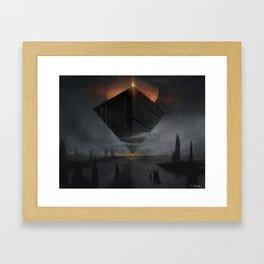 Obsidius Framed Art Print