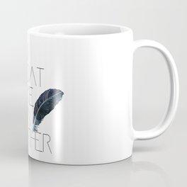 I float like a feather Coffee Mug