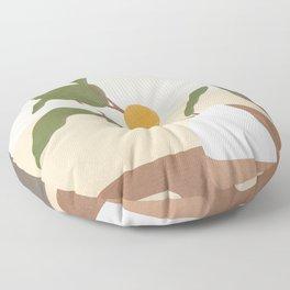 Mandarin Branch Floor Pillow