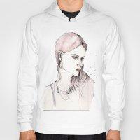 emma stone Hoodies featuring Emma by Lebats