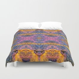 Pulsar Abstract Duvet Cover