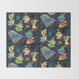 Cosmic Voyage Throw Blanket