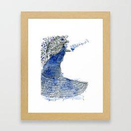 Spreading love Framed Art Print