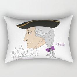 Giacomo Casanova Rectangular Pillow