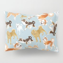 Japanese dogs Pillow Sham
