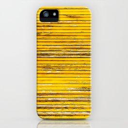 Yellow Mood iPhone Case