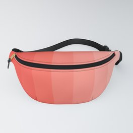 Shades of Living Coral From Hot Tomato Coral to Pale Blush Fanny Pack