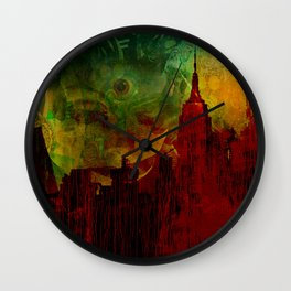 The clairvoyant of Rhode island Wall Clock