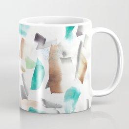 180719 Koh-I-Noor Watercolour Abstract 39| Watercolor Brush Strokes Coffee Mug
