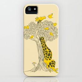 Friends in High Places iPhone Case