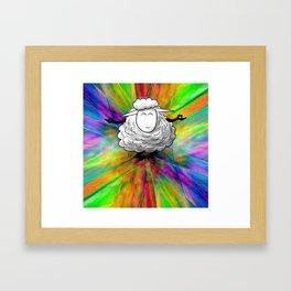 Baa-Zen II Framed Art Print