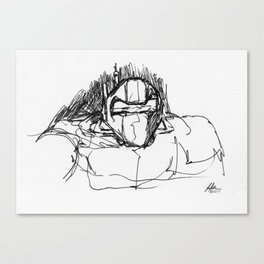 Warbot Sketch #029 Canvas Print