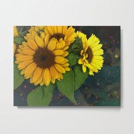 The Sunflowers Metal Print