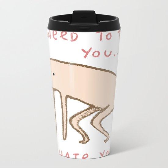 Honest Blob - Hate Metal Travel Mug