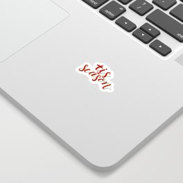 'Tis the season Sticker