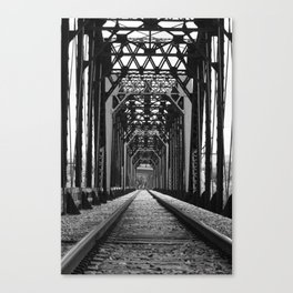 Get Off the Tracks Canvas Print
