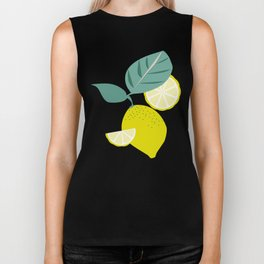 Lemons and Slices Biker Tank