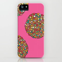 FRECKLES - PINK iPhone Case