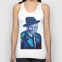 frank sinatra Tank Tops featuring Frank Sinatra by camilletheriot