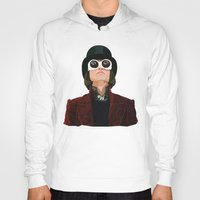 willy wonka Hoodies featuring Willy Wonka by Ananas Art Shop