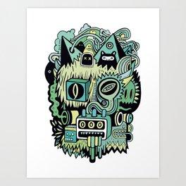 Double Je Art Print