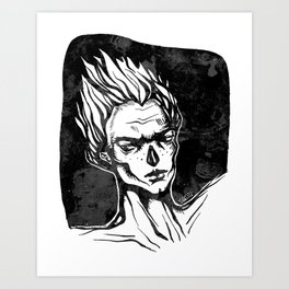 My Darkness Art Print