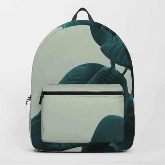 Ficus Elastica #8 #GreenLily #decor #art #society6 Backpack