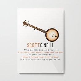 Scott O'Neill | Nun Song | OITNB Metal Print