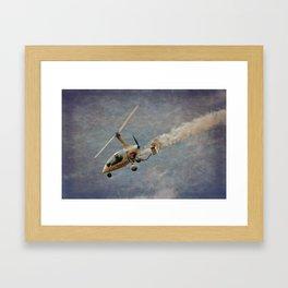 Autogyro Framed Art Print