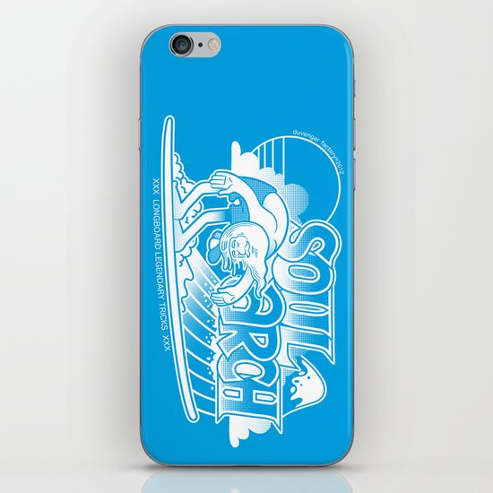 Soul arch iPhone & iPod Skin