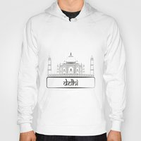 india Hoodies featuring India  by Harkiran Kalsi