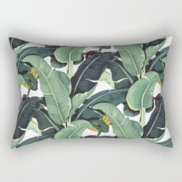 banana leaf pattern Rectangular Pillow
