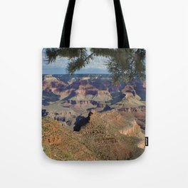 Battleship Rock, Grand Canyon NP, AZ -- Just after sunrise Tote Bag