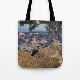 Battleship Rock, Grand Canyon NP, AZ -- Just after sunrise Tote Bag