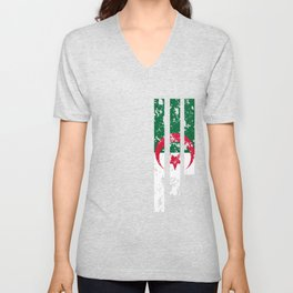 Proud Of Algeria - DZA Unisex V-Neck