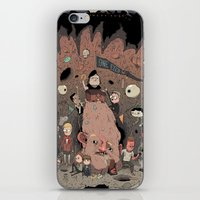 the goonies iPhone & iPod Skins featuring The Goonies by Kensausage